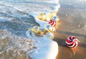 Christmas beach 1